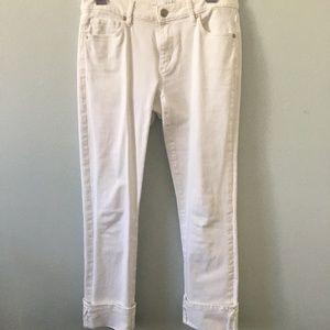 Loft Jeans - White - Size 2/26